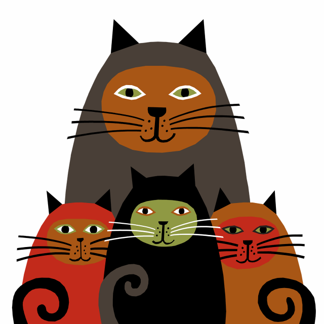 Cats / Design for Society6