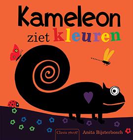 Kameleon ziet kleuren