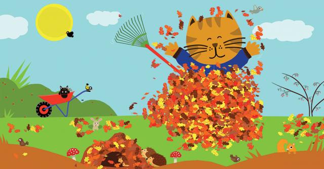 Picture Book Sammy in the Fall / Prentenboek Sammie in de herfst | Clavis Publishers