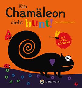 Ein Chamaleon sieht bunt