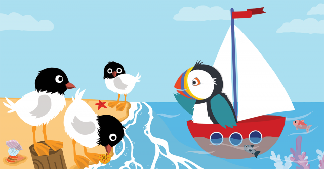 Picture Book Will You Sail with Me? / Prentenboek Vaar je met mij mee? | Clavis Publishers