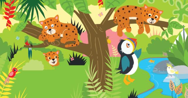 Picture Book Pippa in the Jungle / Prentenboek Pippa. In de jungle | Clavis Publishers