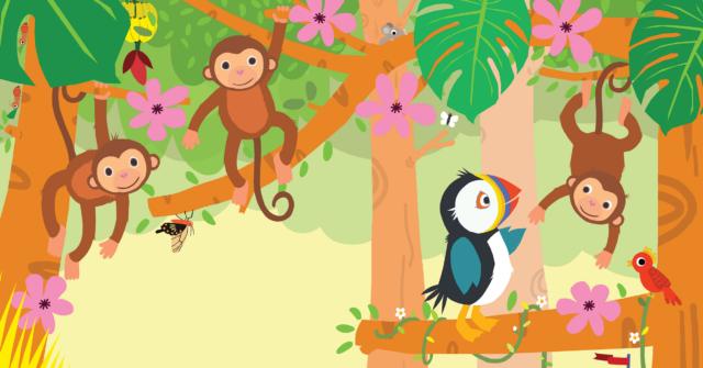 Picture Book Pippa in the Jungle / Prentenboek Pippa in de jungle | Clavis Publishers