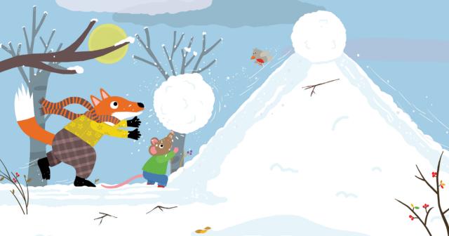 Picture Book Winter Fun / Prentenboek Winterpret | Clavis Publishers