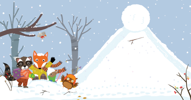 Picture Book Winter Fun / Prentenboek Winterpret | Clavis Publischers